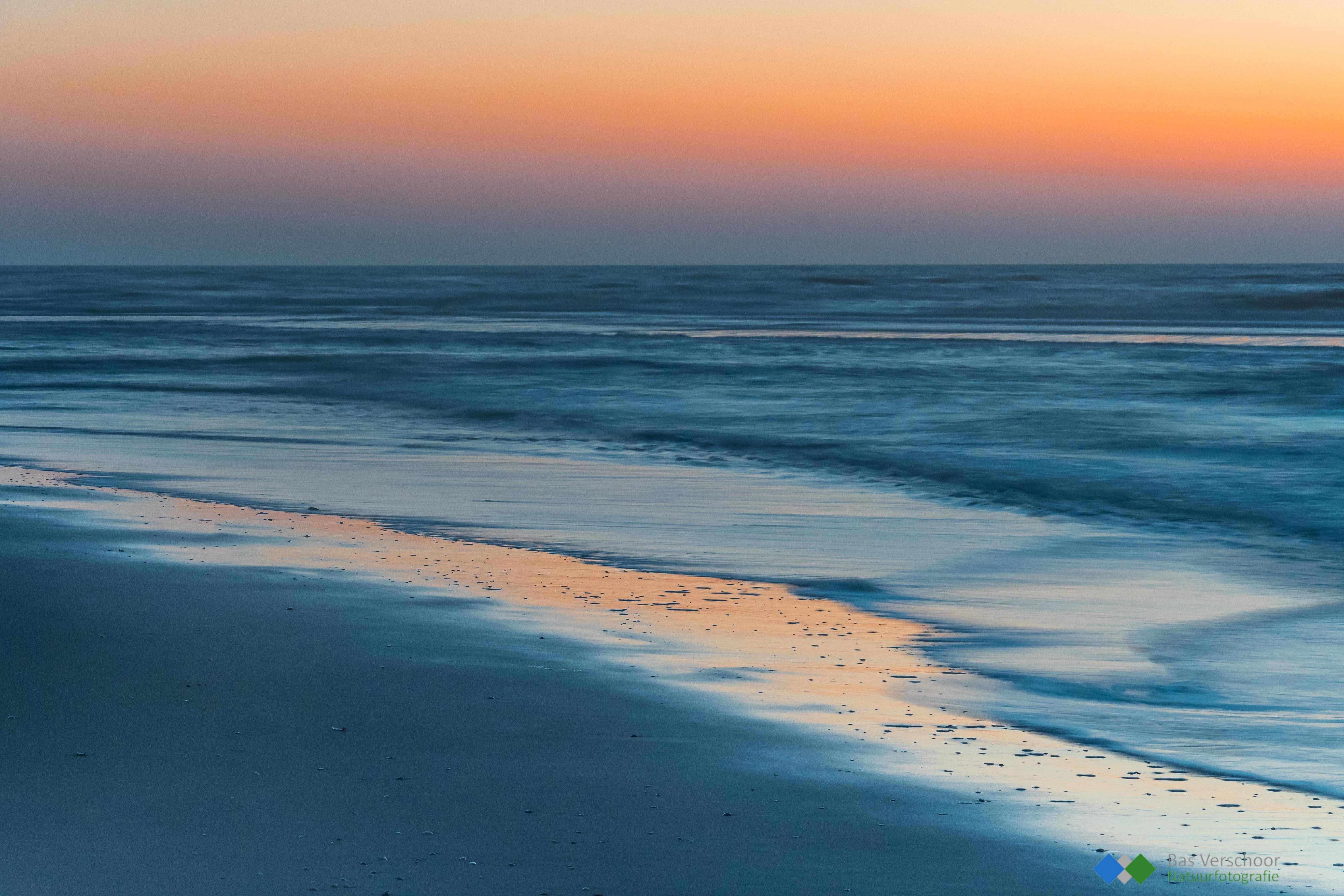 Strand Schoorl - Blauwe uurtje